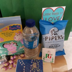 Contents Of Bags Of Love For Libertas Care Staff