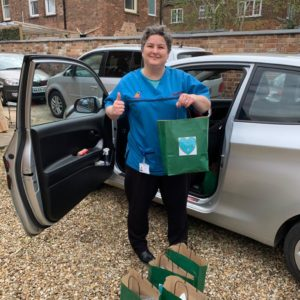 Libertas Team Leader Stacey Wright Off To Mablethorpe To Distribute Bags Of Love (1)